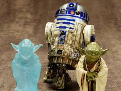 Star Wars ArtFX+ Dagobah Yoda & R2-D2 Statue Set (Empire Strikes Back)