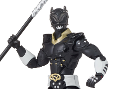 "Power Rangers in Space Legacy 6"" Psycho Black Ranger"