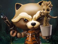 Guardians of The Galaxy Egg Attack Action EAA-023 Rocket Raccoon With Dancing Groot