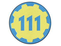 Fallout Vault 111 Round Throw Blanket