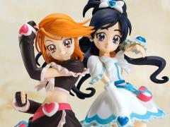 PreCure Cutie Cure Black & Cure White Exclusive Figures