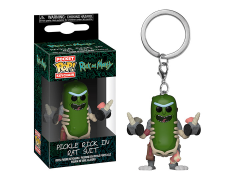 Pocket Pop! Keychain: Rick and Morty - Pickle Rick (In Rat Suit)