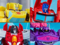 Transformers: Cyberverse Warrior Wave 1 Set of 4