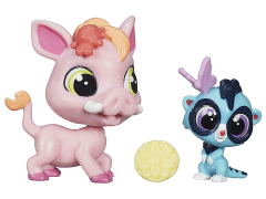 Littlest Pet Shop Pet Pawsabilities Wave 4 - Warren Plainley & Mira Surrey