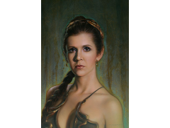 Star Wars Fearless SDCC 2018 Exclusive Giclee