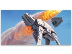 Star Wars AT-AT Lasso Canvas Art Print