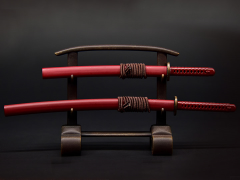 Samurai Sword (Red) 1/6 Scale Accessory Set