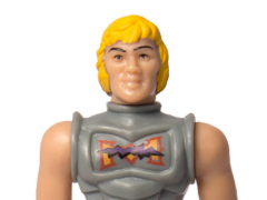 Masters of the Universe ReAction Battle Armor He-Man (Battle Damaged) Figure