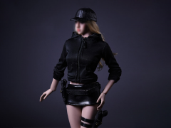 Female Assassin Clothing B 1/6 Scale Accessory Set (With Bonus)