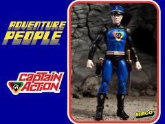 "Adventure People 4"" Figure Wave 01 - Captain Action"