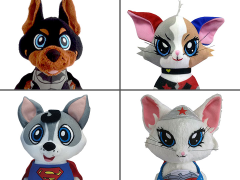 DC Comics Pawzplay Plush Wave 1 Set of 4