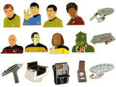 Star Trek 50th Anniversary Collector Pin Box of 36 Pins