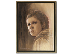 Star Wars Timeless Series Leia Framed Canvas Print (The Empire Strikes Back)