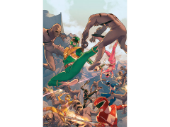 Mighty Morphin Power Rangers Comic #1 Lithograph