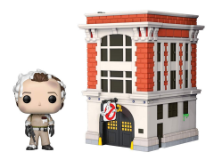 Pop! Town: Ghostbusters - Peter Venkman with Firehouse