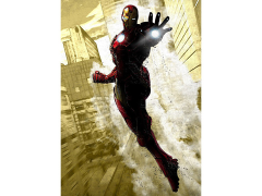 Marvel Dark Edition Iron Man Displate Metal Print