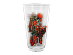 Marvel Comics Toon Tumblers Deadpool Pint Glass