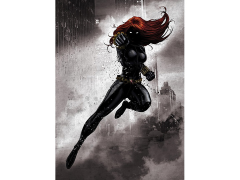 Marvel Dark Edition Black Widow Displate Metal Print