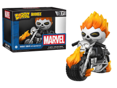Dorbz Ridez: Marvel - Ghost Rider With Motorcycle