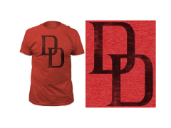 Marvel Daredevil Distressed Logo T-Shirt