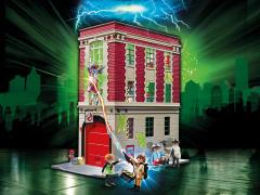 Ghostbusters Playmobil Playset - Firehouse
