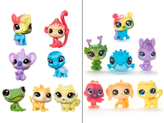 Littlest Pet Shop Rainbow Friends 7-Pack Set of 2