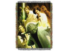 Star Wars Small Rebel Force Woven Tapestry Throw Blanket