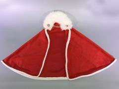 Faux Fur Cloak (Red) 1/6 Scale Accessory
