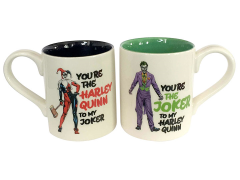 DC Comics Harley Quinn and The Joker Mug Set