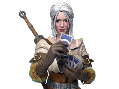 The Witcher 3: Wild Hunt Ciri (Playing Gwent) Bust