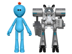 "Rick and Morty Series 1 Mr. Meeseeks 5"" Articulated Action Figure (Snowball Parts)"