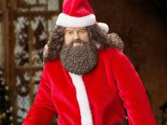 Harry Potter and the Sorcerer's Stone Rubeus Hagrid (Santa) 1/6 Scale Figure