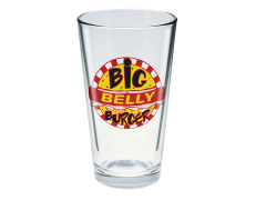 Arrow Toon Tumblers Big Belly Burger Pint Glass