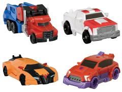 Transformers Adventure TAV-49 EZ Collection Autobots vs Clampdown