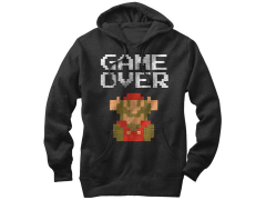 Nintendo Super Mario Bros. Game Over Hoodie