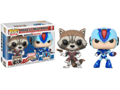 Pop! Games: Marvel Vs. Capcom: Infinite - Rocket Vs Mega Man X