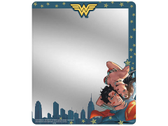 DC Comics Superman & Wonder Woman (#11 Variant Cover Skyline Selfie) Locker MIrror