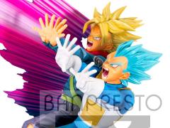 Dragon Ball Super Super Master Stars Diorama II Vegeta & Trunks -The Brush II-