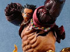 One Piece Monkey D. Luffy (Gear 4 Kong Gun) Crimson Color Figure