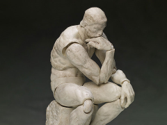 The Table Museum figma No.SP-056b The Thinker (Plaster ver.)