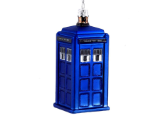 Doctor Who T.A.R.D.I.S. Glass Ornament