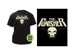 Marvel Punisher Glowing Logo T-Shirt
