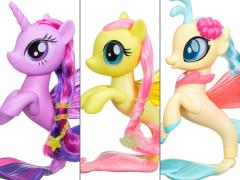 My Little Pony: The Movie Glitter & Style Sea Ponies Set of 3 Figures