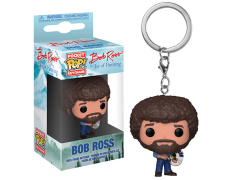 Pocket Pop! Keychain: The Joy of Painting - Bob Ross