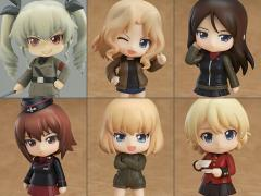 Girls Und Panzer Nendoroid Petite Other High Schools Box of 6 Figures