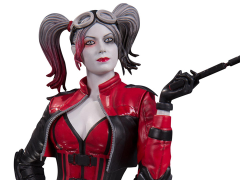 DC Comics Harley Quinn Red White & Black Statue Injustice 2