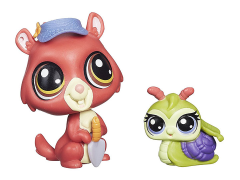 Littlest Pet Shop Pet Pawsabilities Wave 3 - Eunice Greenley & Pacer Landon