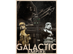Star Wars Galactic Empire Lithograph (Rogue One)