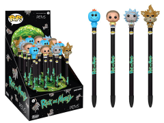 Rick and Morty Pen Toppers Box of 16