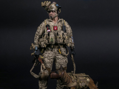 1/6 Scale DEVGRU K9-handler in Afghanistan (With Dog)